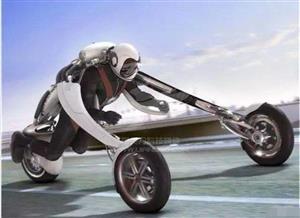 雅马哈要逆天,可穿戴摩托车震撼来袭!