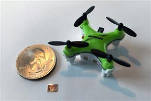 "MIT研发20平方毫米微型芯片,让无人机""小如指甲轻似气球"""