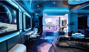 """太空旅行不是夢 美國一公司擬2025年建成""""太空飯店"""""""