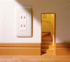日本人造了所房,竟然只有插座大!细节却变态到极致