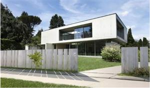 波兰造的这个伸缩大门,专为豪宅设计!