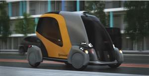 首款智能共享汽车!车门开在车头,显示屏车窗,未来滴滴会这样吗?