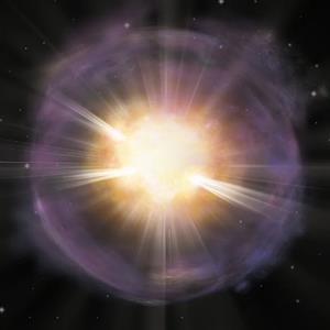 一国际科研团队首次用X射线对一颗富钙超新星进行了研究