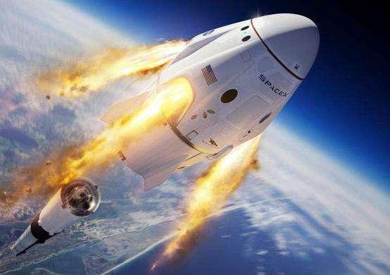 """起点美国目的地空间站!SpaceX""""龙""""飞船发射"""