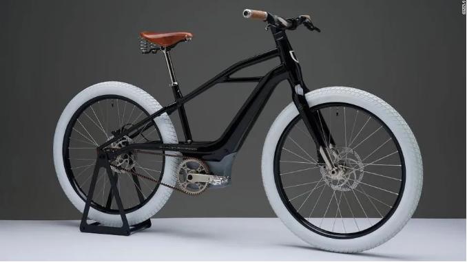 哈雷开始卖电动自行车了~!网友:美式二八大杠?!